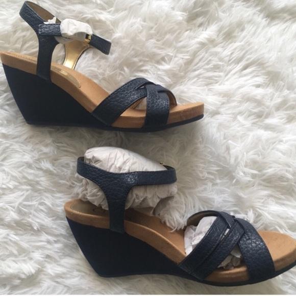f2e6bccb8c Chaps Shoes | Reine Wedge Sandal | Poshmark